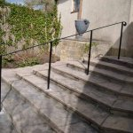 Wrought-Iron Hand Rail