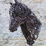 Commissioned Horse Sculpture