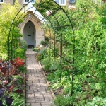 Wrought-Iron Hand Arch