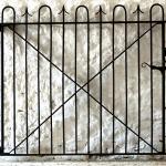 Restored gate for Sherborne Castle Estate